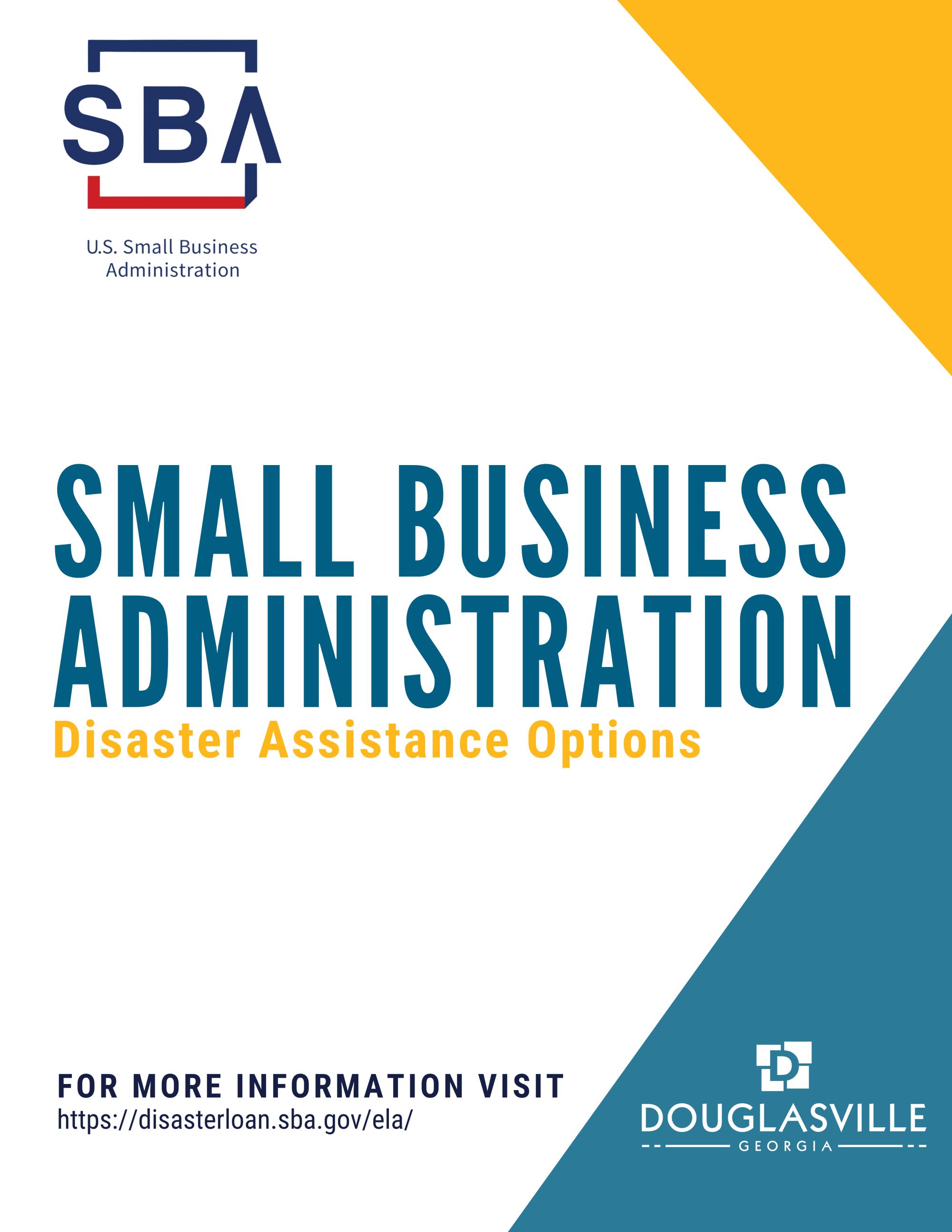 SBA Information