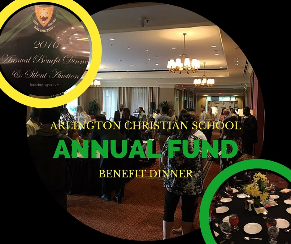 Arlington Christian School Benefit Dinner