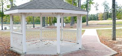 Hunter wedding gazebo