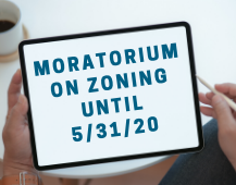 Zoning Moratorium on Tablet Computer