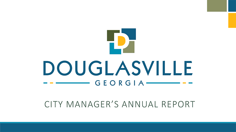 City Manager's Annual Report thumbnail