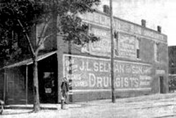 J. L. Selman and Sons Drugstore early 1900s