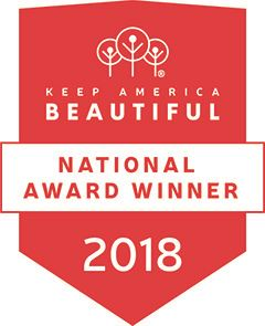 Keep America Beautiful - National Award Winner 2018